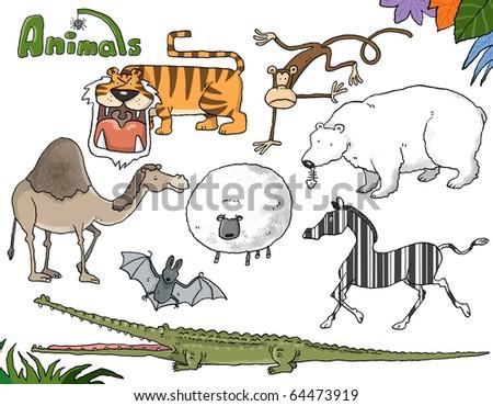 animals_01 - stock photo