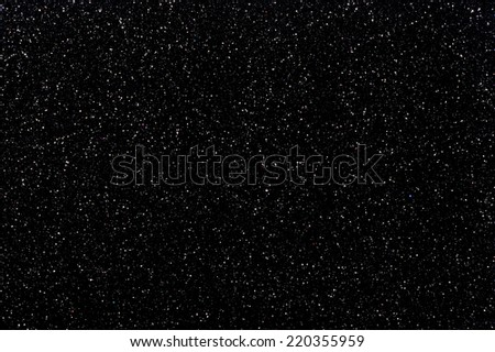 animated space background with hundred of stars  - stock photo