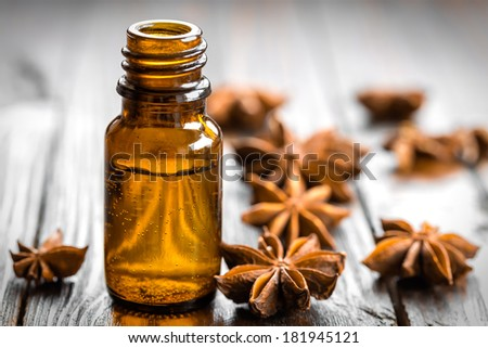 Anise oil - stock photo
