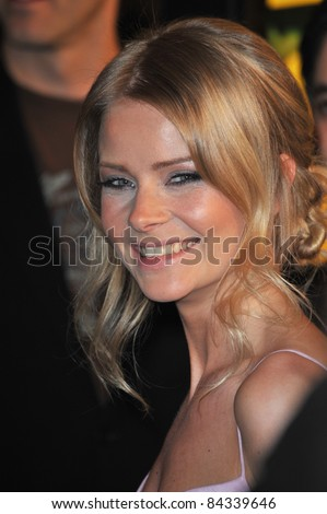 "Anita Briem at the US premiere of ""Watchmen"" at Grauman's Chinese Theatre, Hollywood. March 2, 2009  Los Angeles, CA Picture: Paul Smith / Featureflash"