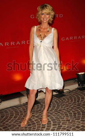 Anita Seelig at the opening of the flagship Garrard Boutique. Garrard Flagship Store, Beverly Hills, CA. 07-10-07