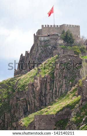 Stock Images similar to ID 164921735 - ankara castle ...