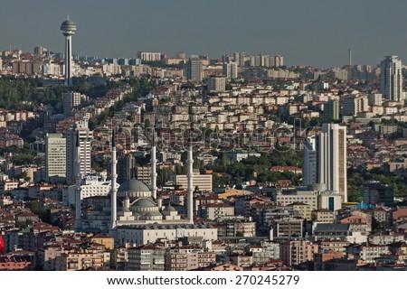 Ankara Turkey - stock photo