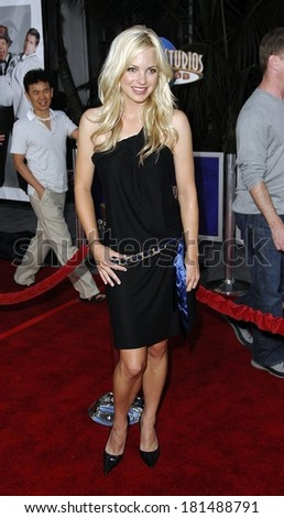 Anna Faris at LA Premiere of I NOW PRONOUNCE YOU CHUCK AND LARRY, Gibson Amphitheatre and CityWalk Cinemas, Los Angeles, CA, July 12, 2007