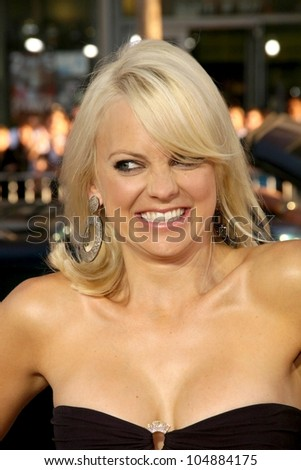 Anna Faris  at the Los Angeles Premiere of 'Observe and Report'. Grauman's Chinese Theatre, Hollywood, CA. 04-06-09