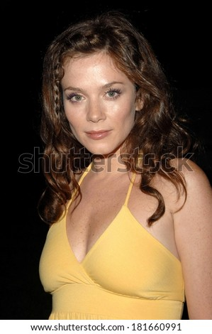 Anna Friel at ABC Sneak Peek of PUSHING DAISIES, Hollywood Forever Cemetery, Los Angeles, CA, August 16, 2007