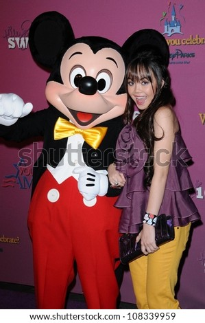 Anna Maria Perez de Tagle  at the Sweet 16 Celebration for Miley Cyrus. Disenyland, Anaheim, CA. 10-05-08