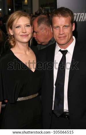 Anna Torv and Mark Valley at the Los Angeles Premiere of 'Star Trek'. Grauman's Chinese Theatre, Hollywood, CA. 04-30-09 - stock photo