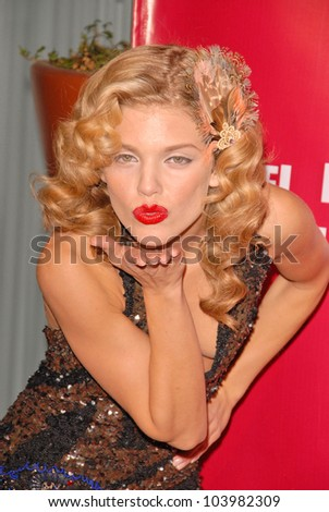 AnnaLynne McCord  at Rachel McCord's 21st Birthday Party, SkyNar, West Hollywood, CA. 10-27-09