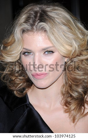 Annalynne McCord at the 1st Annual Noble Humanitarian Awards. Beverly Hilton Hotel, Beverly Hills, CA. 10-18-09