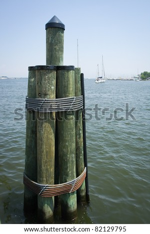 ANNAPOLIS HARBOR, MARYLAND, USA - stock photo