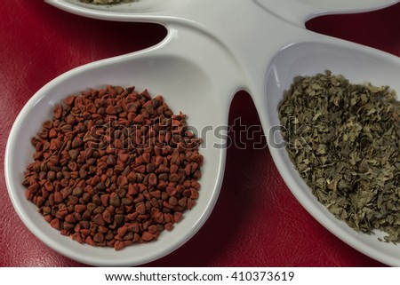 Annatto - stock photo