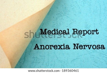report on bulimia nervosa