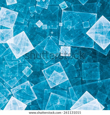 Anstract background filled with squares symbolizing computer technologies, data, information, and Internet. - stock photo