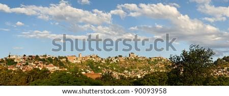 Antananarivo panoramic view, Madagascar - stock photo