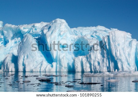 Antarctic Berg - stock photo