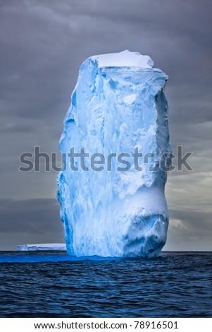 Antarctic iceberg - stock photo