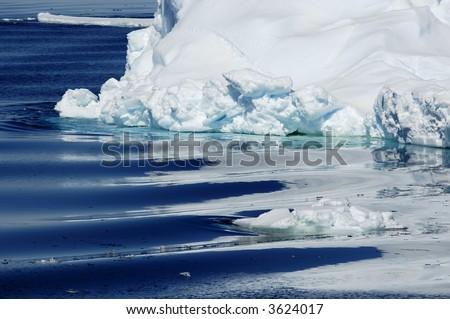 Antarctic purity - stock photo