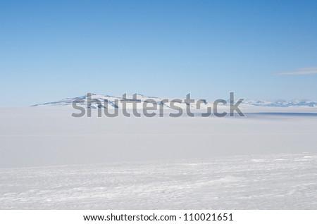 Antarctic view - stock photo