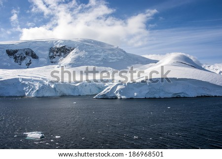 Antarctica - Antarctic Peninsula - Palmer Archipelago - Neumayer Channel - Global warming - Fairytale landscape / Antarctica - Fairytale landscape - stock photo
