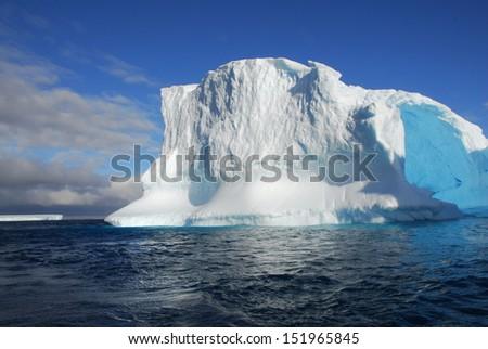 Antarctica Iceberg - stock photo