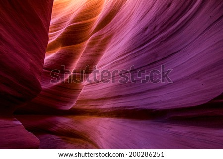 Antelope Canyon - stock photo