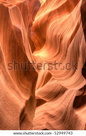 Antelope Canyon in Arizona - stock photo