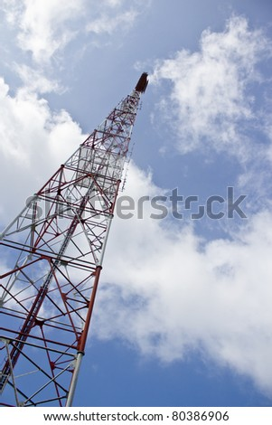 antenna - stock photo