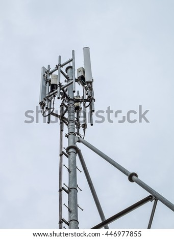 Antenna tower and repeater of Communication and telecommunication with sky