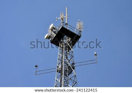 Antennas - stock photo