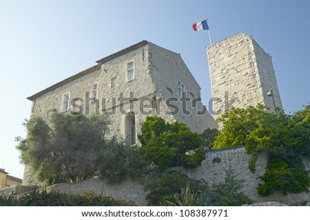 Antibes castle, Antibes, France