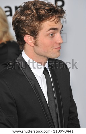 ANTIBES, FRANCE - MAY 21, 2009: Robert Pattinson at amfAR's Cinema Against AIDS Gala at the Hotel du Cap d'Antibes. May 21, 2009  Antibes, France - stock photo