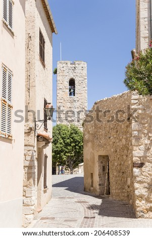 Antibes, France. View of old town - 2 - stock photo
