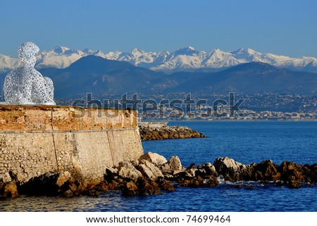 Antibes, French Riviera - stock photo