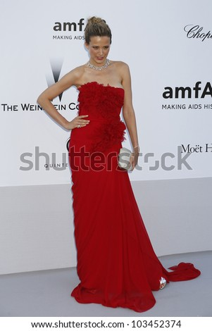 ANTIBES - MAY 24: Petra Nemcova at the 2012 amfAR's Cinema Against AIDS at Hotel Du Cap on May 24, 2012 in Antibes, France