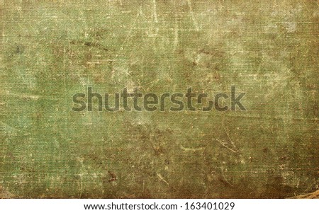 Antique book cover, can use as background  - stock photo