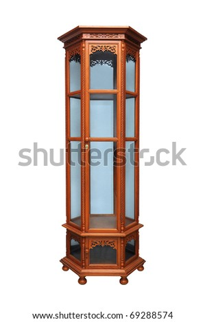 Antique cabinet. - stock photo
