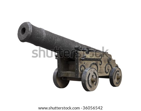stock-photo-antique-cannon-isolated-on-w