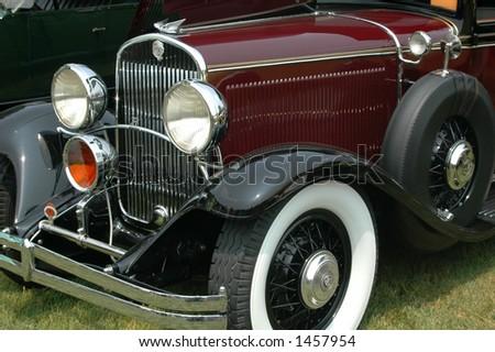 Antique car - stock photo