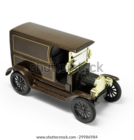 Antique Car model - stock photo