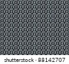 antique cross pattern iron lattice photo - stock photo