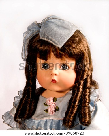 antique cute doll