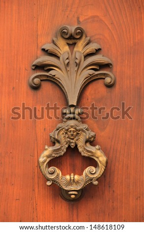 Antique door knocker (Italy)