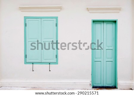 Colonial Windows Stock Photos Images Pictures