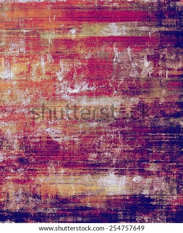 Antique grunge background with space for text or image. With different color patterns: yellow (beige); purple (violet); red (orange); pink - stock photo