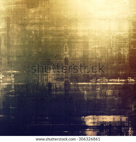 Antique grunge background with space for text or image. With different color patterns: yellow (beige); brown; purple (violet); gray - stock photo