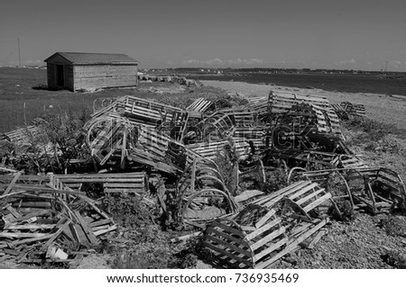 Antique Lobster traps