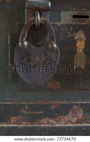 Antique Lock.