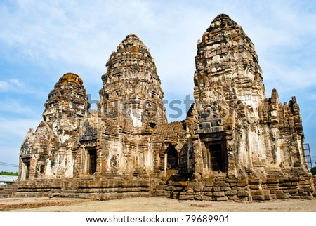 Antique Pagoda - stock photo