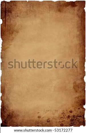 antique paper - stock photo